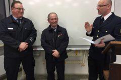 Ehrenabzeichen für 40 Jahre aktiven Dienst