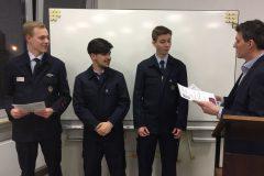 Beförderung zum Oberfeuerwehrmann