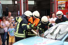 Schauübung Technische Rettung