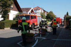 Einleitung des Brandangriffes auf den Kindergarten