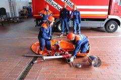 Feuerwehrtechnische Ausbildung