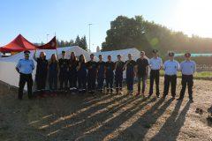 Teilnehmer am Kreisjugendfeuerwehrtag 2019