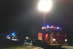 Flutlichtfahrzeug zur Ausleuchtung der Einsatzstelle