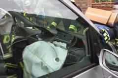 Ausgelöste Airbags im PKW
