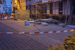 Beschädigtes Gebäude