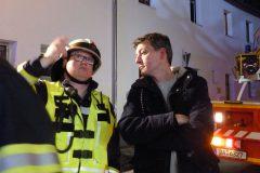Stadtbrandinspektor und Bürgermeister