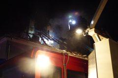 Teleskopmast der Feuerwehr Münster