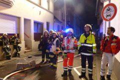 Rettungsdienst und LNA an der Einsatzstelle