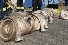 Sortierung der Schläuche nach Feuerwehren