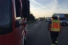 Fahrzeugführer TLF auf voll gesperrter B 45