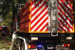 WLF Feuerwehr Mühlheim mit AB Wasser-Schaum