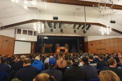 510 Zuschauer in der Kulturhalle Münster