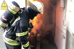 Brennender Trafo