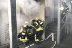 Brandbekämpfung eines Trupps