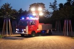 FLF - Fahrzeug im Schlossgarten