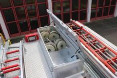 HLF20 Dachkasten geöffnet