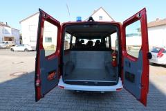 MTF I - Heckansicht und Kofferraum