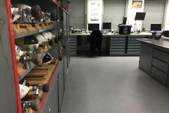Atemschutzwerkstatt - Arbeitsplätze