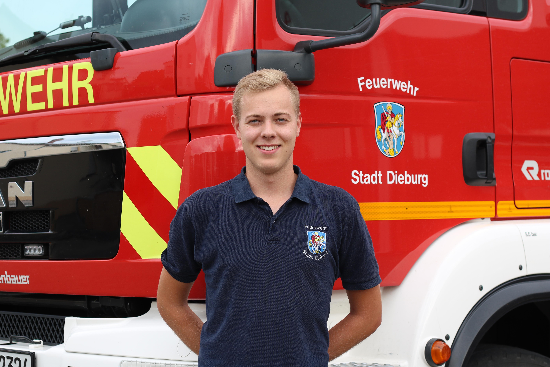 Pascal Löw - Stellvertr. Stadtjugendfeuerwehrwart